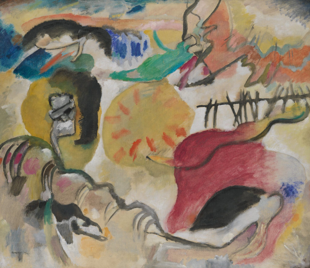 Improvisation 27 by Vasily Kandinsky